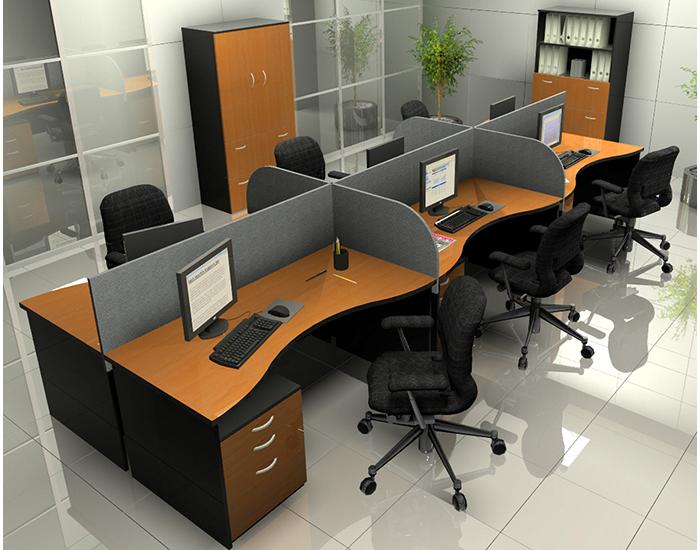 Pin escritorios archiveros sillas mobiliario muebles de - Escritorios de oficina ...